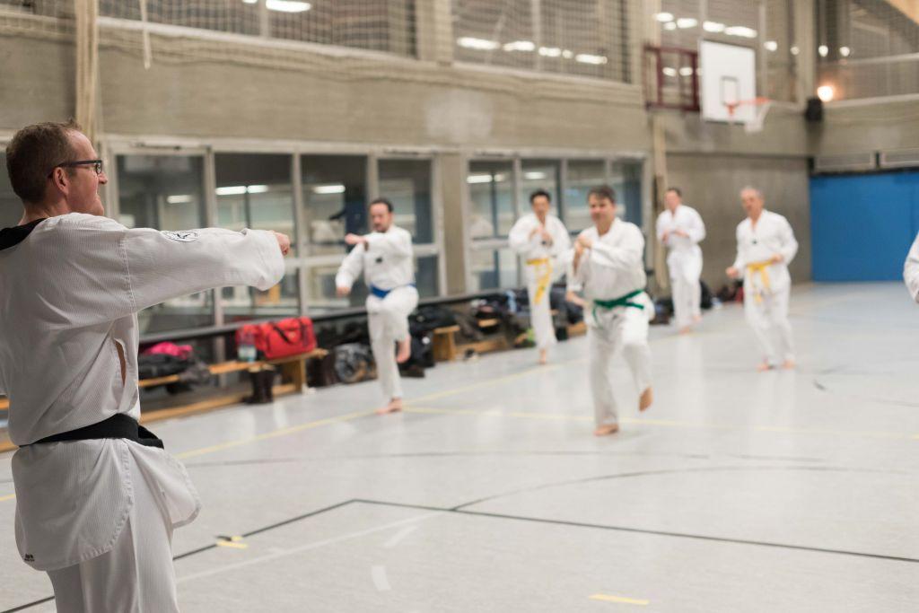 Taekwondo aufwaermtraining
