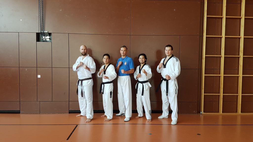 Team Taekwondo JCR mit Alexander bachmann