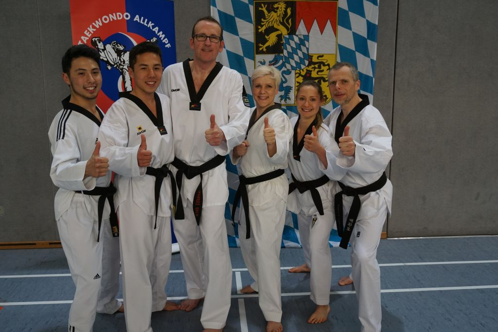 Team JCR Taekwondo Dillingen Bundes-DAN-Prüfung