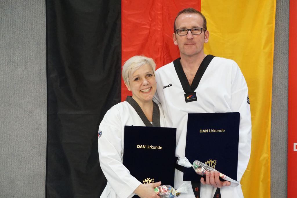 Großmeister Kerstin und Markus Koch