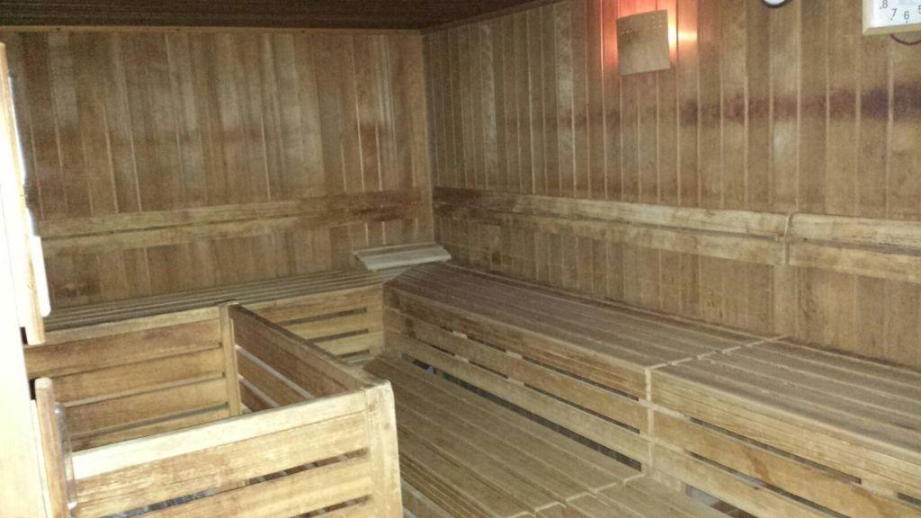 Sauna in der Abteilung Taekwondo
